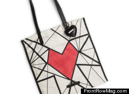 The 'Between The Lines' bag raises funds for leukemia and lymphoma research.