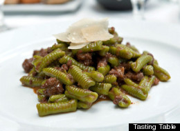 A pasta dish from Osteria Drago (Tasting Table)