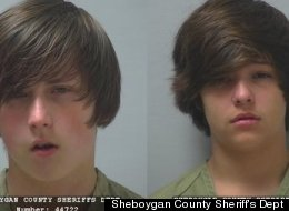 Nathan Paape (L), and Antonio Barbeau, both 13, have been charged with first-degree intentional homicide in the death of Barbeau's great-grandmother, Barbara Olson.
