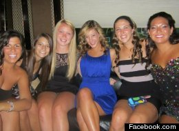Alexandra Kogut, in blue, was found beaten to death in McLean Hall at the College of Brockport on Saturday morning.