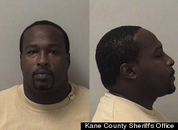 Alex Robinson of Aurora, Ill. was arrested after he brought cocaine to court.