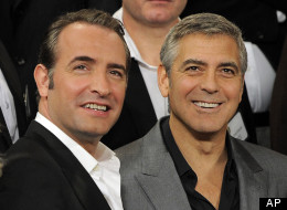 George Clooney & Jean Dujardin: Handsome devils and perhaps co-stars in