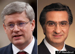 Prime Minister Stephen Harper says his government pushed to have a man now accused of corruption, Robert Abdallah, appointed to a post with the Port of Montreal because the city wanted it. (CP/Handout)