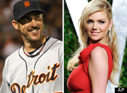 Detroit Tigers pitcher Justin Verlander and model Kate Upton, who is from Michigan, have been romantically linked. Dating rumors have spurred plenty of amateur analysis on Twitter about Upton's effect on Verlander's game play. (AP Photos)