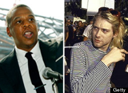 Jay-Z is a huge Kurt Cobain fan.