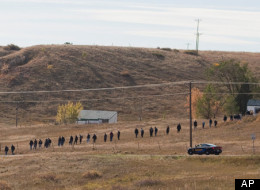 Police search near an area where a body was found Wednesday in Parttridge Park, in Arvada, Colo., during the ongoing search for missing 10-year-old Jessica Ridgeway on Thursday, Oct. 11, 2012. Police are not saying whether the body found is linked to the missing girl case and noted Thursday that officers are still searching for Ridgeway, who disappeared Oct. 5. (AP Photo/Barry Gutierrez)
