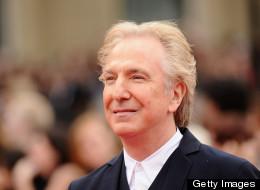 Alan Rickman played Snape in