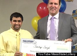 Sandeep Singh, Mega Millions lottery winner, claimed his $30.5 million prize this week