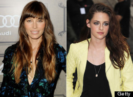 Jessica Biel vs. Kristen Stewart: They're pretty close in Hollywood terms.