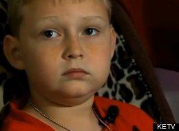 Iowa 9-year-old student Jaxon.