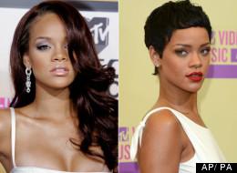 Rihanna: ¿Con el cabello largo o con el cabello corto?