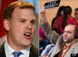 Iranian officials angry at John Baird for his criticism of their internal politics have hit back by asking how he'd like it if they  weighed in on the Quebec independence debate. (CP)