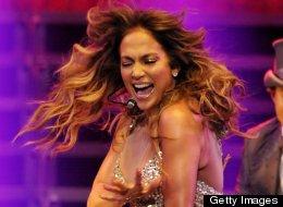 Jennifer Lopez enseñó de más ahora en Londres