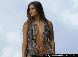 Catarina Migliorini, 20, is auctioning off her virginity for charity, and received a winning bid of $780,000 for virtue.