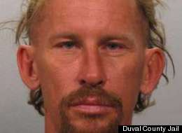 David James Lee, 44, allegedly stole flowers from a graveside to give to his girlfriend.
