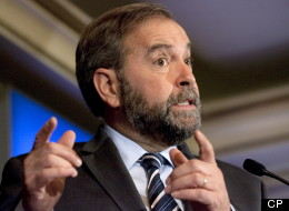 Opposition and NDP Leader Thomas Mulcair said that looking forward, his party will present a