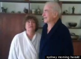 Jutta and Edwin Dowdy, who have black belts in several martial arts, defended their home against a robber on Saturday.