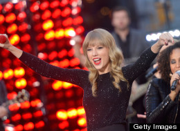 Taylor Swift is co-hosting the Grammy nominations TV show; she's excited