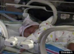 Emma Sofía la bebé milagro del huracán Sandy