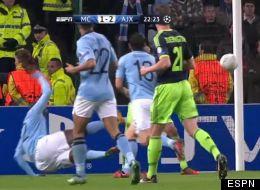 Yayá Touré hizo un gran gol con el Manchester City
