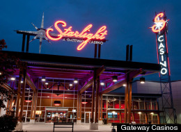 A man who was shot by police outside the Starlight Casino has died in hospital. (Gateway Casinos)