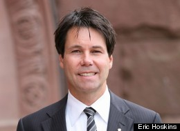 Eric Hoskins, MPP for the Toronto riding of St. Paul's, announced this morning he has resigned as minister of children and youth services.  (Image from erichoskins.onmpp.ca)