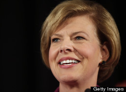Rep. Tammy Baldwin will become the first openly gay U.S. senator. (Photo by Darren Hauck/Getty Images)