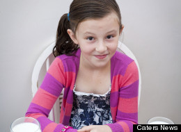 Holly Lindley, 9, has a genetic disorder called glycogen storage disease.