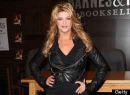 Kirstie Alley shows off her slim figure at book signing on Nov. 11.