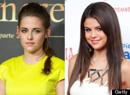 Kristen Stewart vs. Selena Gomez: One former teen star against the other.