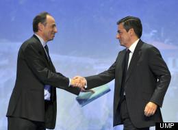 Les deux candidats à la présidence de l'UMP, Jean-François Copé et François Fillon.