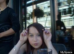 Amanda Todd's life was celebrated on Sunday in Coquitlam, B.C. (Myspace)