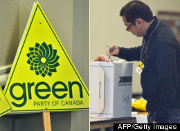 The Green Party is doing much better than expected in polls leading up to byelections in Victoria and Calgary Centre. (AFP/Getty Images)