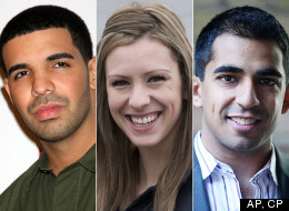 Rapper Drake, MP Ruth Ellen Brosseau and Polar Mobile's Kunal Gupta are three Canadians under 30 who are leaving a big footprint on the world.