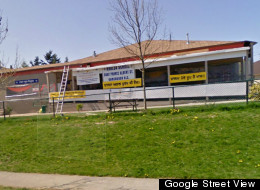 The Vancouver Khalsa School, seen after being damaged by a fire, is seeking a new home. (Google Street View)
