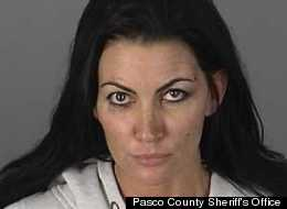 Tracy Dimasi, 39, was arrested Tuesday on a charge of aggravated domestic battery.
