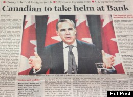 The only place in the world where Mark Carney's departure to the Bank of England was bigger news than in Canada was, of course, Britain, where pundits and commentators lined up on Monday to offer up their two cents on the unprecedented move to appoint a Canadian to run the U.K.'s central bank.