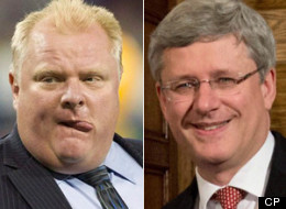Those whose antics threaten to besmirch the party name normally don't get a second chance with Canada's federal Conservatives. Not so, it would seem, for Toronto Mayor Rob Ford. (CP)
