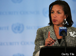 U.S. Ambassador to the United Nations Susan Rice addresses the media following a Security Council meeting on July 11, 2012 in New York City. (Photo by Spencer Platt/Getty Images)