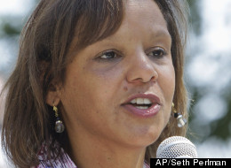 Former Ill. state Rep.Robin Kelly announced she would seek the seat in the 2nd Congressional District vacated by Jesse Jackson Jr. (AP/Seth Perlman)
