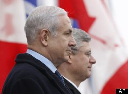 Canada stood apart from some major allies, the U.S. included, in refusing to condemn Israeli plans for new settlements in areas claimed by the Palestinians. (AP)
