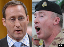 The commander of the Canadian Army, Lt.-Gen. Peter Devlin, told a Senate committee Monday there is no administrative fat to cut in his branch and that budget restraint is forcing him to train soldiers to a lower standard than during the Afghan war. (CP)