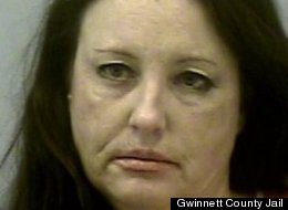 Jana Lawrence is accused of, among other things, yelling profanites, rubbing another woman's genitals, licking a man's arm tattoo and exposing her breasts and buttocks.