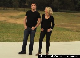 John Travolta and Olivia Newton-John have released a new music video.
