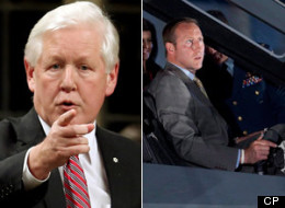 Interim Liberal Leader Bob Rae suggested Friday that Defence Minister Peter MacKay can't keep his job amid a mounting scandal surrounding the cost of the government's plan to buy F-35 fighter jets. (CP)