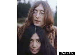 John Lennon (1940 - 1980) with Yoko Ono, December 1968. (Photo by Keystone/Hulton Archive/Getty Images)