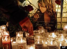 Jenni Rivera cantó su muerte