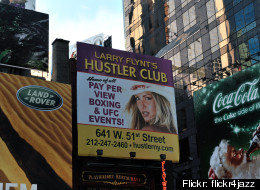 Larry Flynt's Hustler Club in Manhattan won a recent lawsuit brought by a customer, William Ilg, who refused to pay his $28,000 tab.