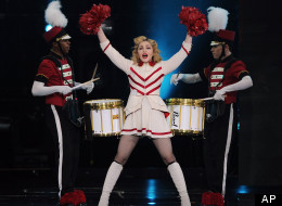 Madonna's MDNA tour was the highest-grossing of 2012.
