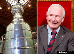 The Governor General laughed when asked about the Stanley Cup. (Alamy, CP)